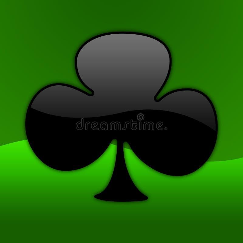 w pokera 01 symbol ilustracja wektor