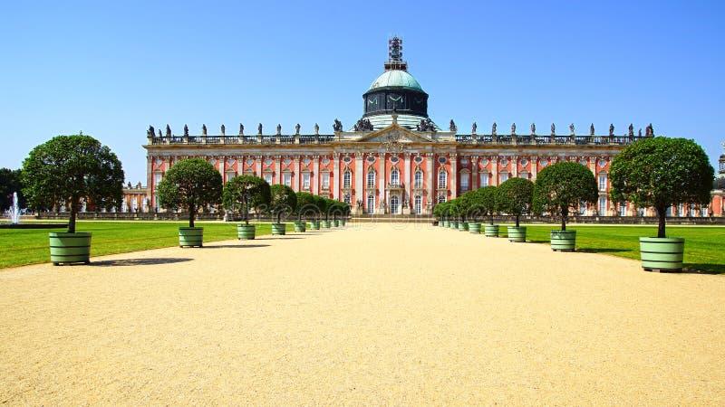 W Potsdam Sanssouci pałac, Niemcy. obrazy stock