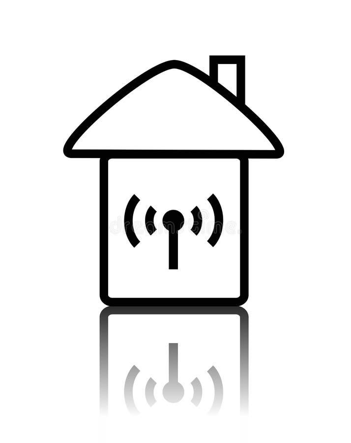 w radio logo ilustracja wektor