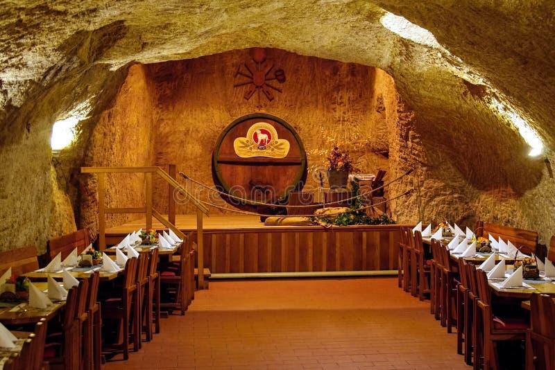 W Rockowym Restauracyjnym Chodova Plana, republika czech fotografia stock