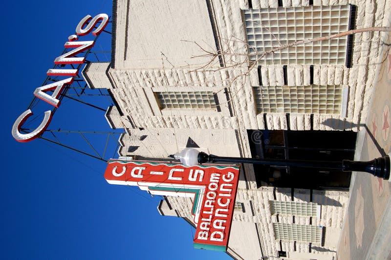 w sali balowej Cain jest Tulsa fotografia stock