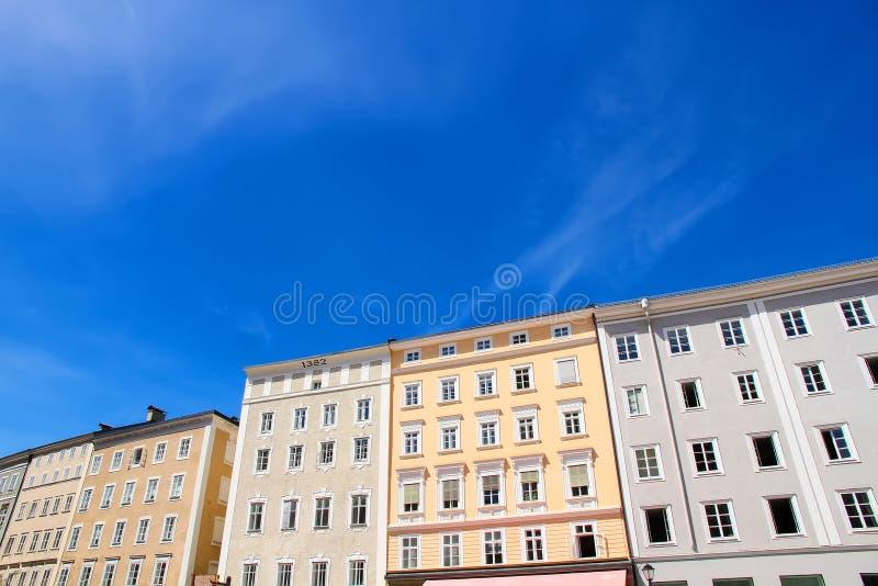 Download W Salzburg Historyczna Architektura Zdjęcie Stock - Obraz złożonej z eurydice, historia: 53790776