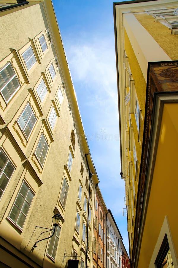 Download W Salzburg Historyczna Architektura Obraz Stock - Obraz złożonej z austrians, mozart: 53791379