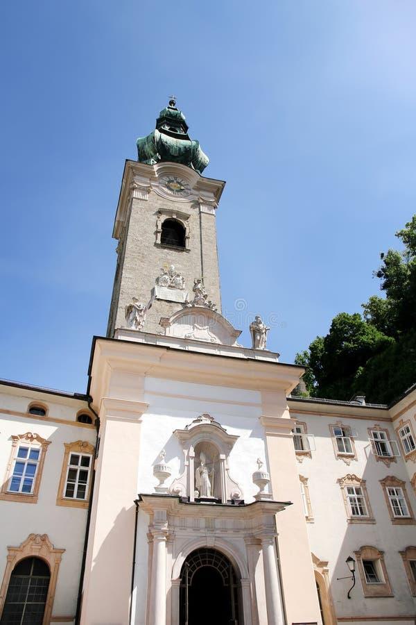 Download W Salzburg Historyczna Architektura Zdjęcie Stock - Obraz złożonej z europejczycy, średniowieczny: 53791598