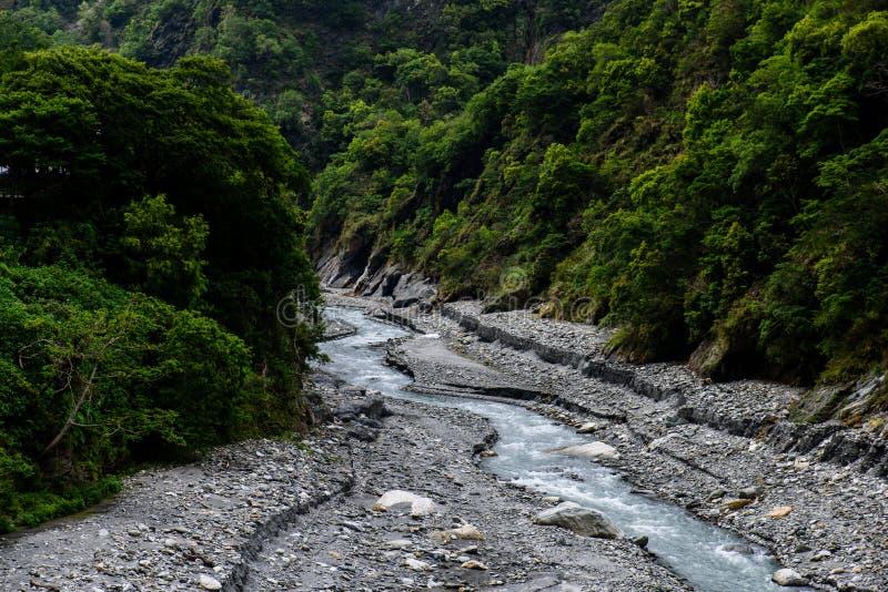 W Tajwan Taroko Park Narodowy obrazy royalty free