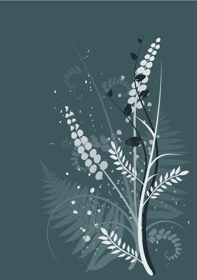 w tle ornament kwiecisty ilustracja wektor