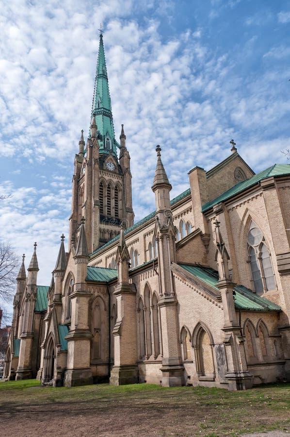 W Toronto St Katedra James zdjęcie stock