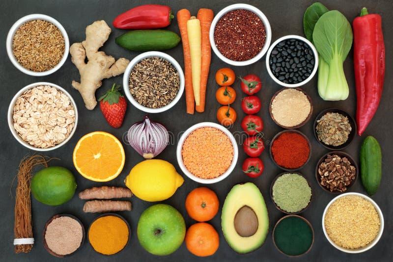 W?trobowego Detox Super jedzenie zdjęcia royalty free