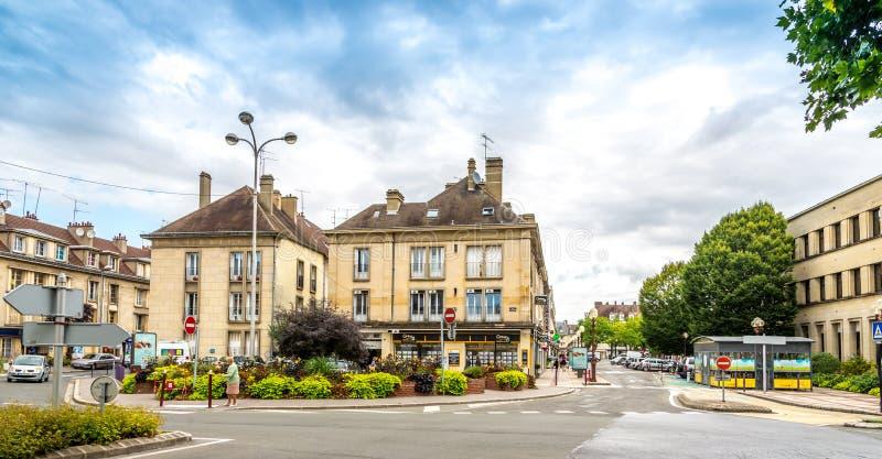 W ulicach Beauvais obraz stock