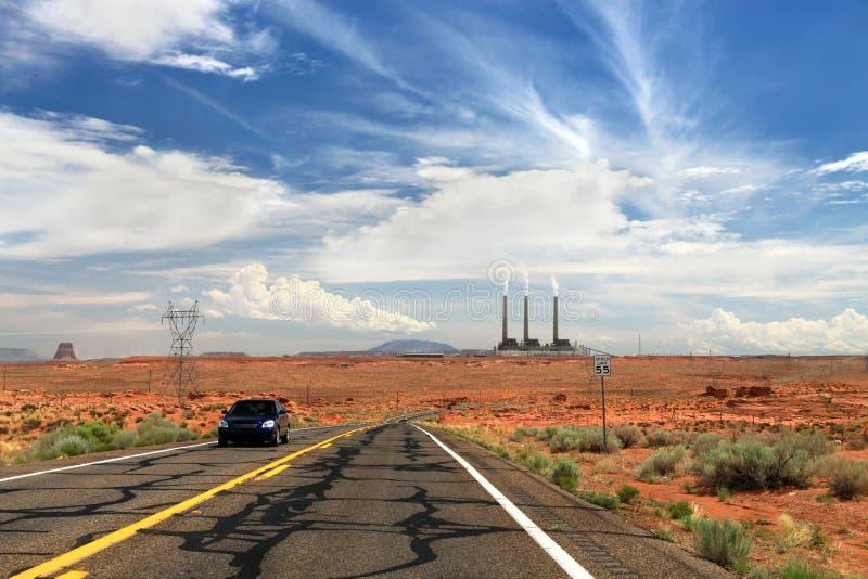 w Utah Elektrownia obrazy royalty free