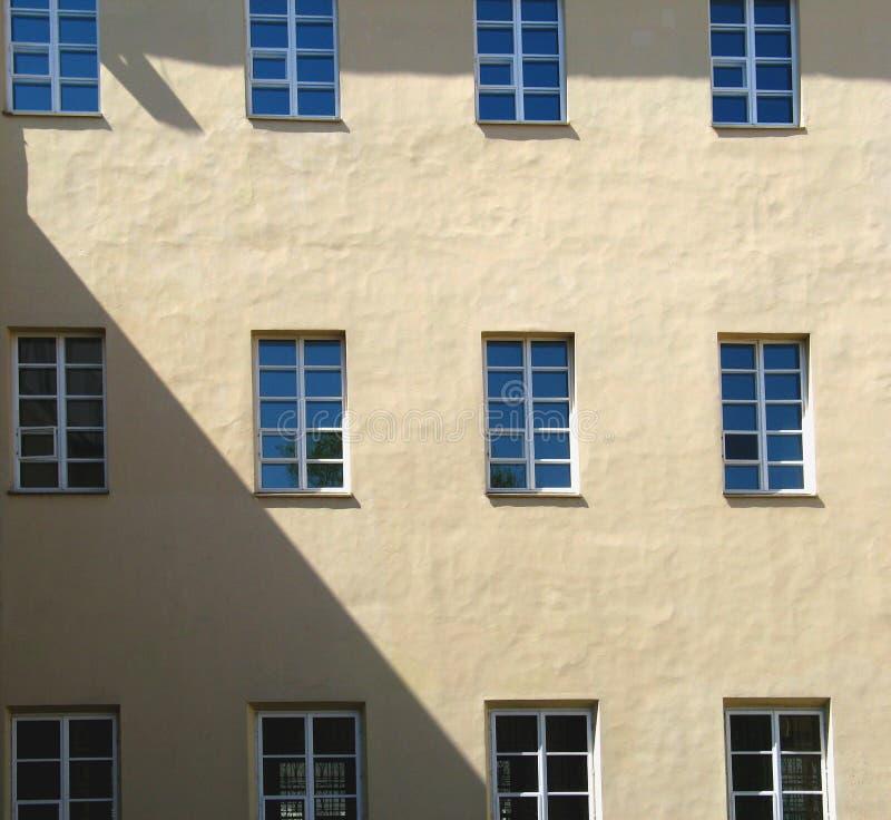 W Vilnius Uniwersytecie dwanaście okno obrazy royalty free