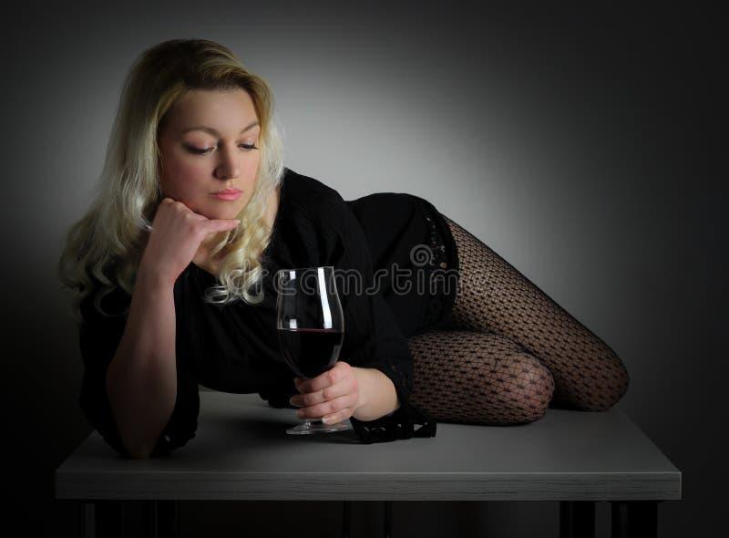 W vino veritas zdjęcia stock