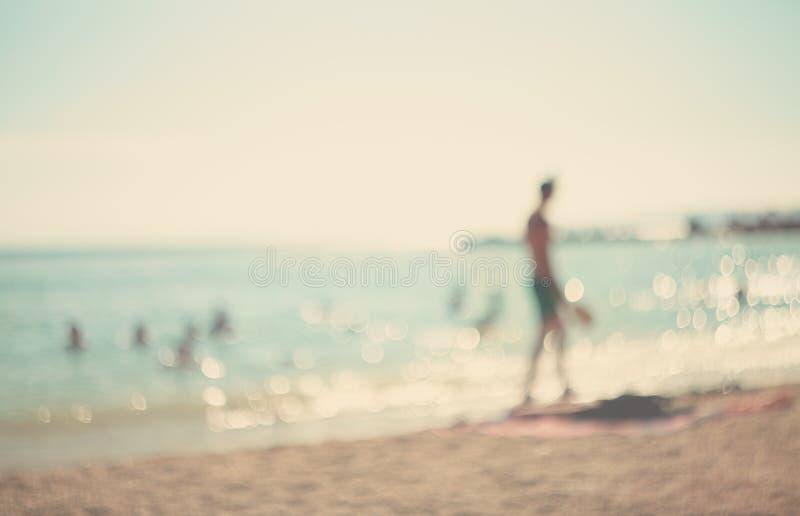 W wakacje. zdjęcia stock