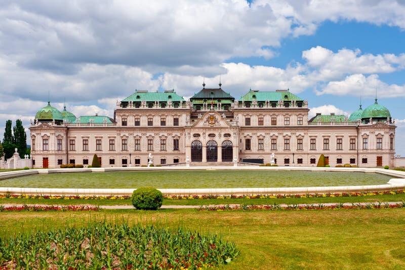 W Wiedeń grodowy Schonbrunn fotografia royalty free