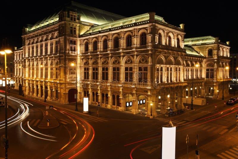W Wiedeń Opera, Austria fotografia stock