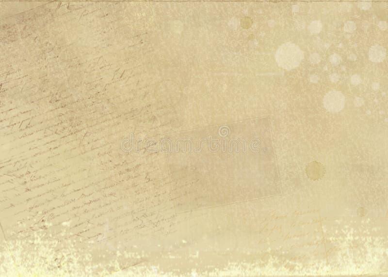 w wieku tło papieru ilustracja wektor