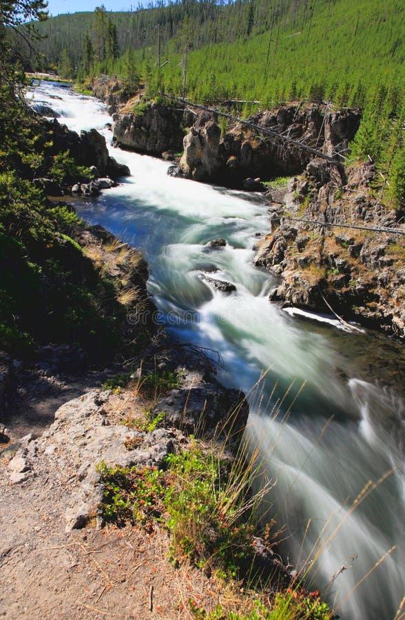 w Yellowstone wody zdjęcia stock