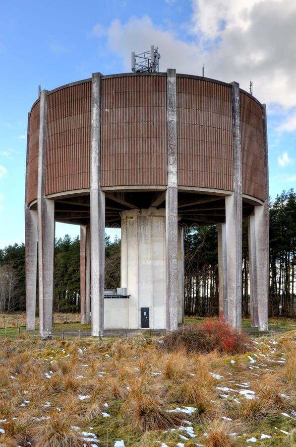 Waßerturm im Ostkilbride stockbilder