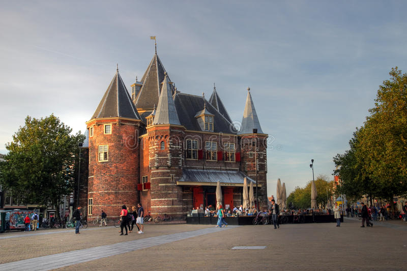 Download The Waag, Amsterdam, The Netherlands Editorial Image - Image of europe, turrets: 11485505