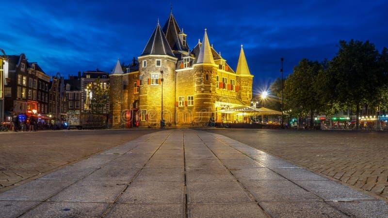 Waag в Nieuwmarkt в Амстердаме