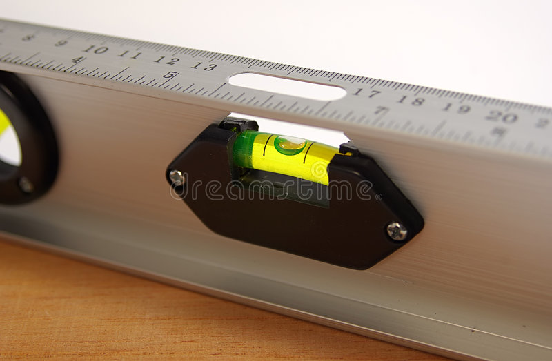 Waagerecht ausgerichtete Oberfläche lizenzfreies stockbild
