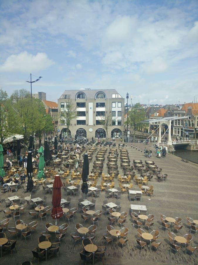 Waagplein Alkmaar stock afbeeldingen