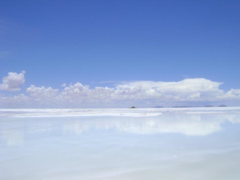 Waar de hemel en de aarde samenkomen stock fotografie