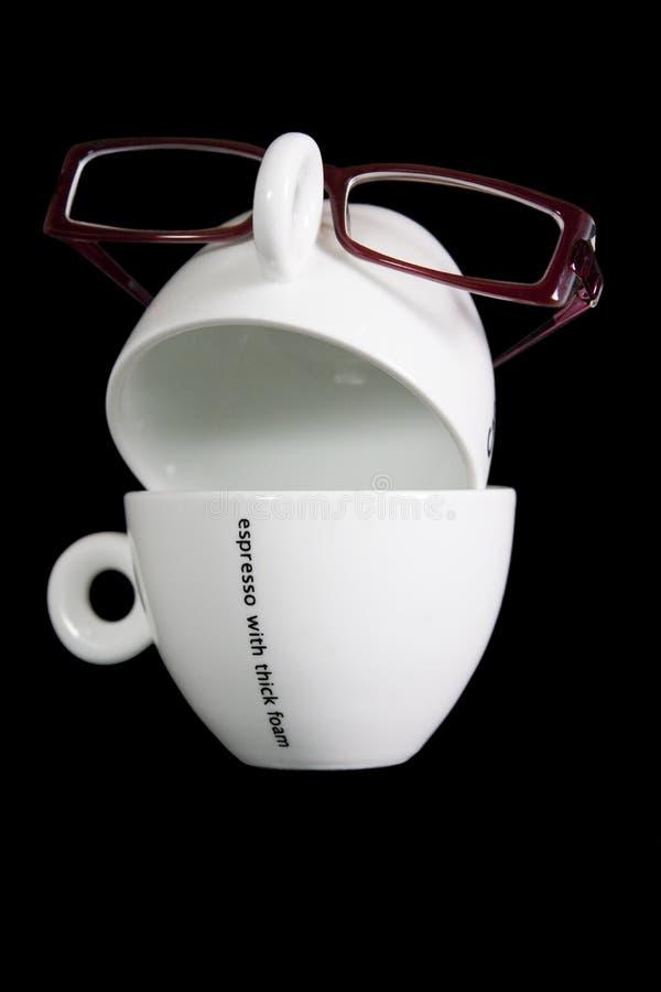 Waar is mijn koffie? stock foto