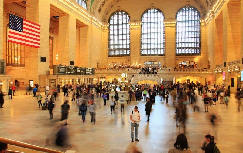 Waar te gaan? @ Grand Central -Post New York royalty-vrije stock foto