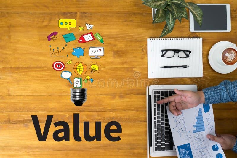 waarde stock illustratie