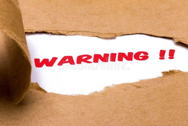waarschuwing stock afbeeldingen