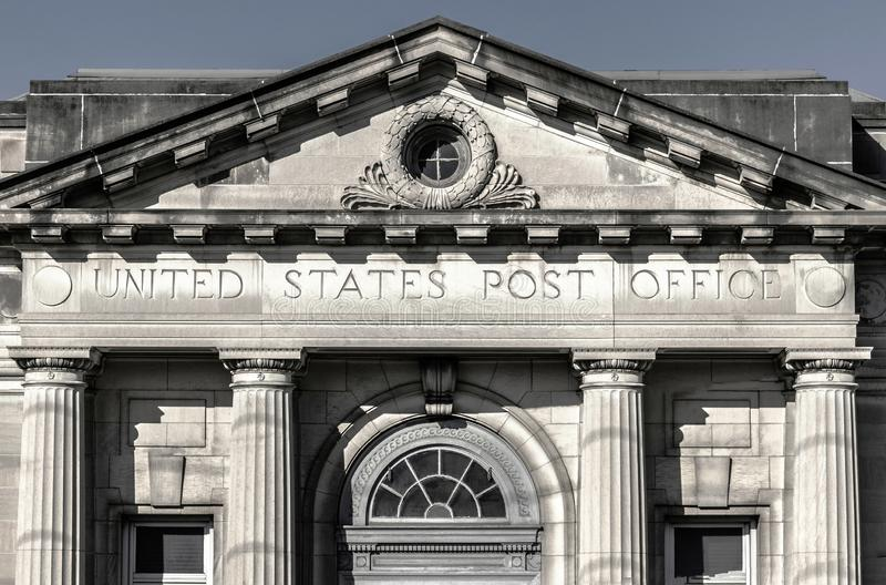 USPS Post Office Location. The USPS is Responsible for Providing Mail Delivery. Wabash - Circa September 2019: USPS Post Office Location. The USPS is Responsible stock photography