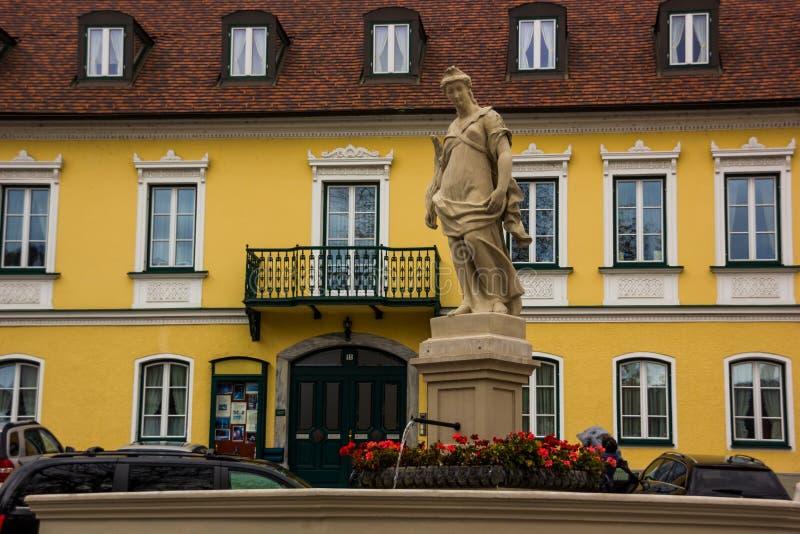 Wachau, Spitz, Oostenrijk royalty-vrije stock foto
