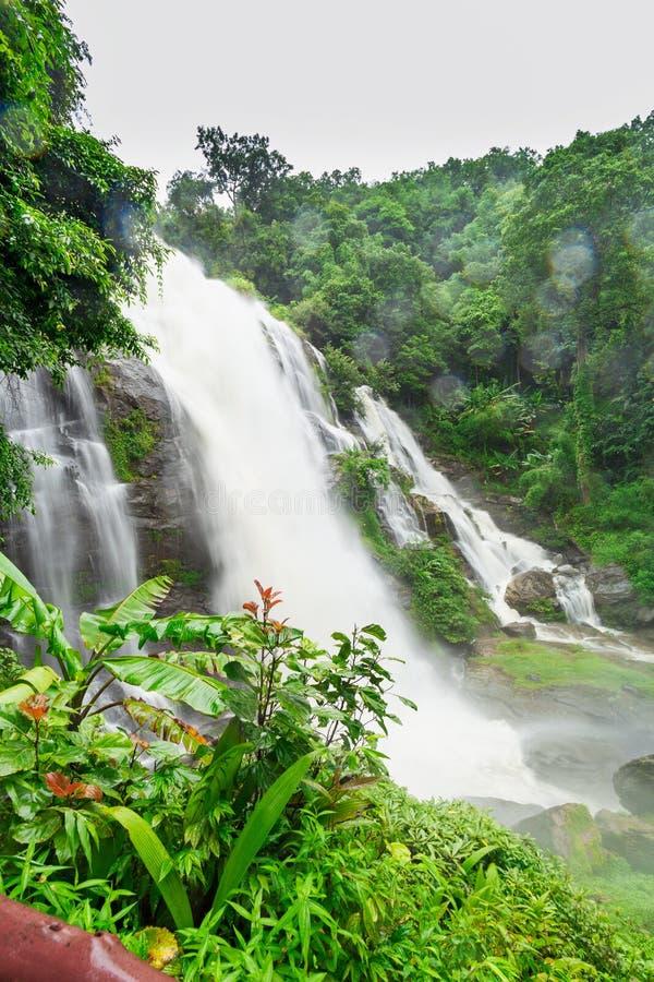 Wachirathan siklawa w Tajlandia zdjęcie royalty free