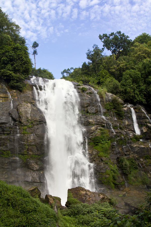 Wachirathan Waterfall In Chiangmai Thailand Royalty Free Stock Photography