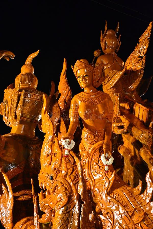 Wachs von Thailand lizenzfreies stockfoto