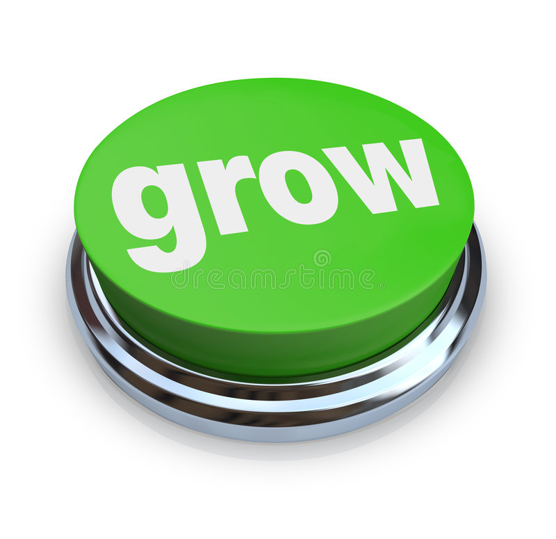 Wachsen Sie Taste - Grün