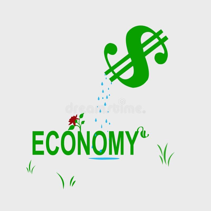 Wachsende Wirtschaftlichkeit stockbild