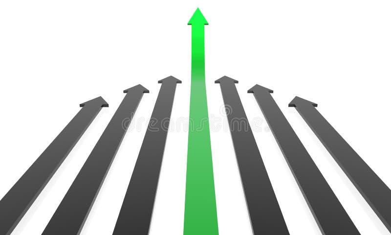 Wachstum stock abbildung