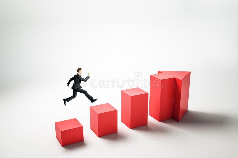 Wachstums- und Erfolgskonzept lizenzfreie abbildung