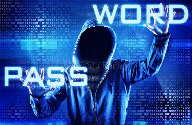wachtwoord stock foto
