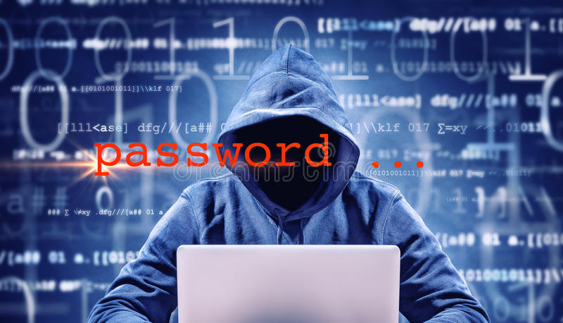 wachtwoord stock afbeelding