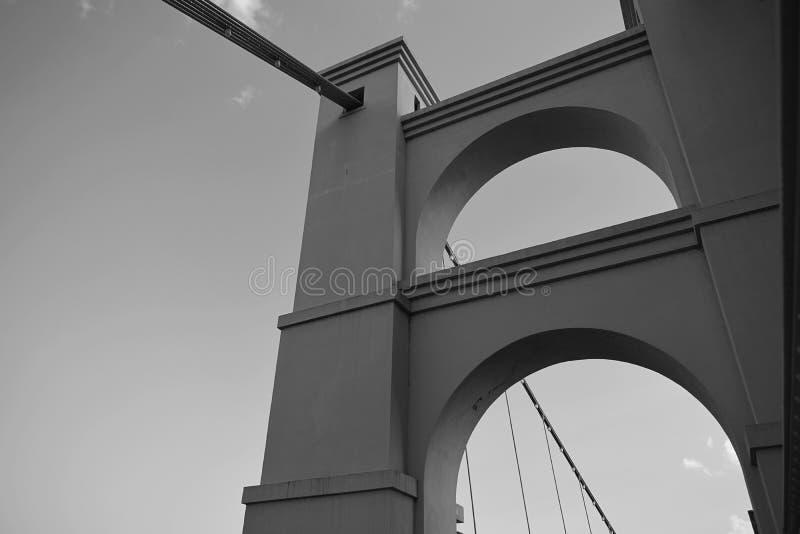 Waco bridge royalty free stock images
