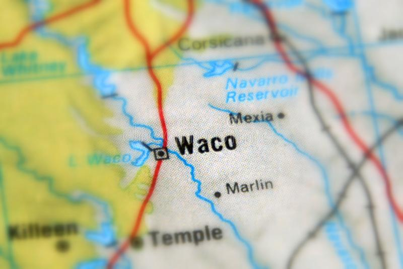 Waco, eine Stadt im U S stockfoto