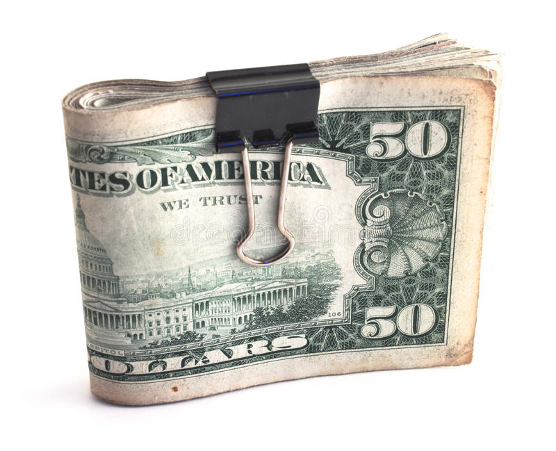 Download Wad of cash stock photo. Image of large, clip, cash, gambling - 18015842