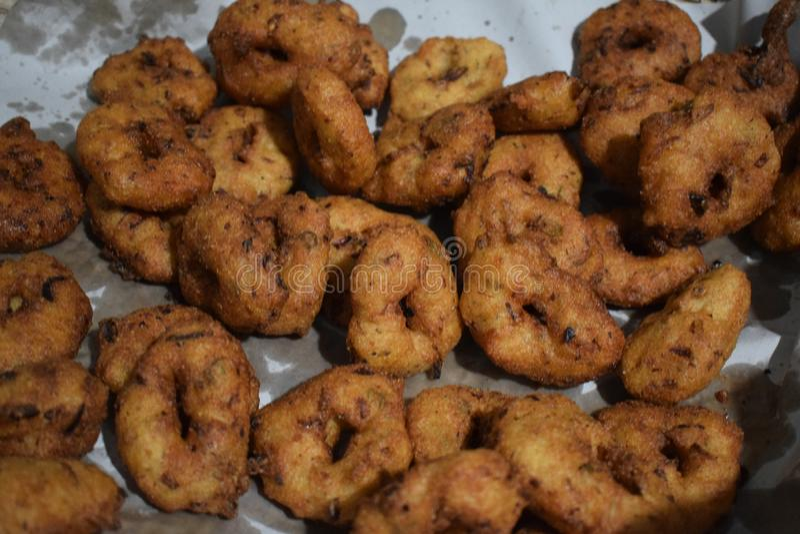 Wada, casse-cro?te, frit, crisphy, beignet, Asiatique photographie stock