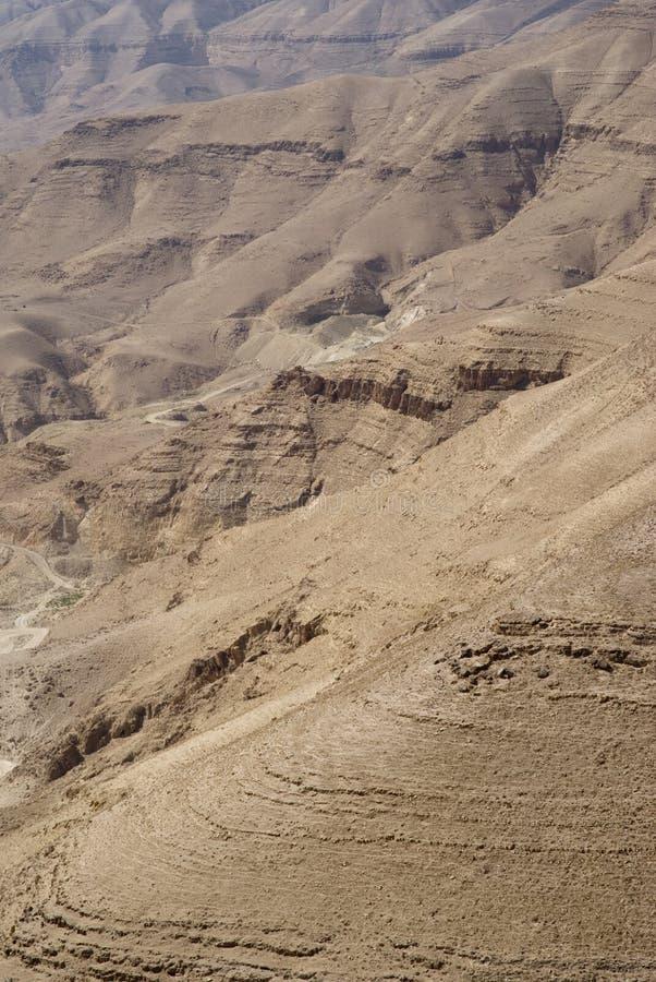 Wadi al Hasa, Giordania immagini stock libere da diritti