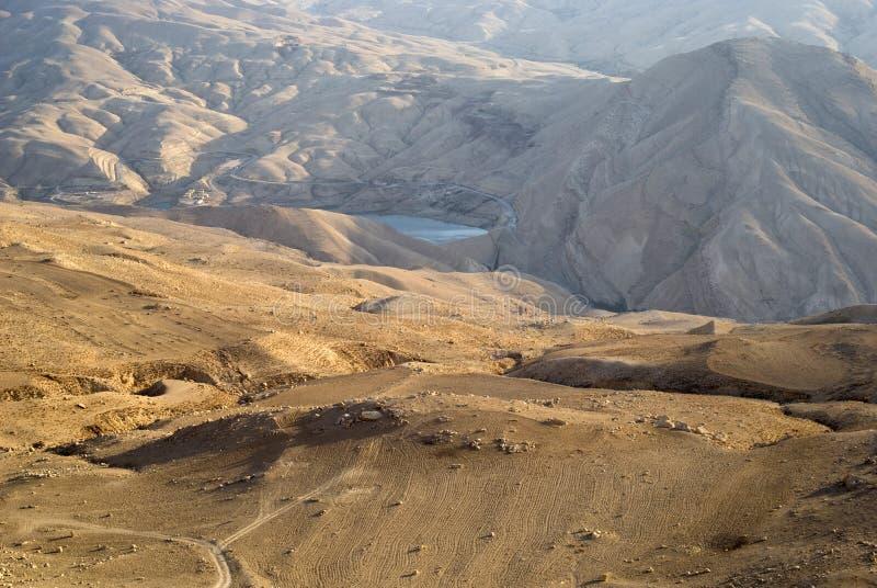 Wadi al Hasa, Giordania fotografie stock