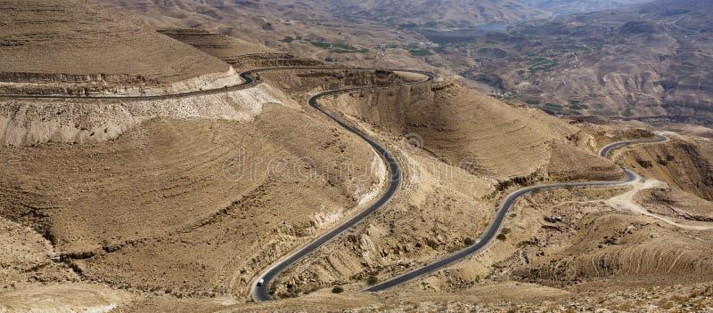 Wadi Al Hasa, Giordania del sud fotografia stock libera da diritti