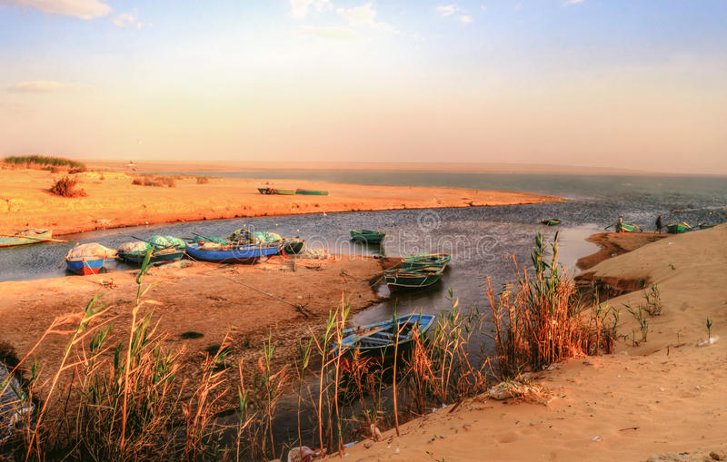 Wadi Al Rayan imágenes de archivo libres de regalías